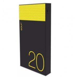 Внешний аккумулятор Golf Hive 20 plus 20000 mAh