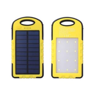 Power Bank Solar Led Panel 2USB