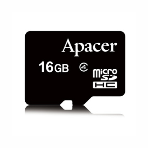 microSDHC 16 Гб Apacer class 4