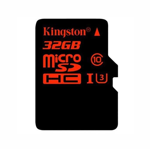 microSDHC 32 Gb UHS-I U3 Kingston 4k2k (90 MB/s 80 MB/s)