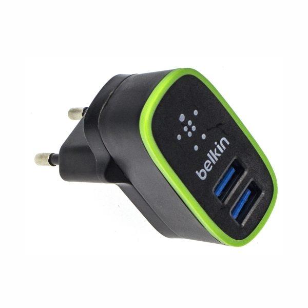 зарядное устройство Belkin 2USB microUSB