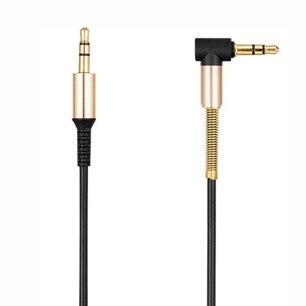 AUX кабель боковой металл 1.5м