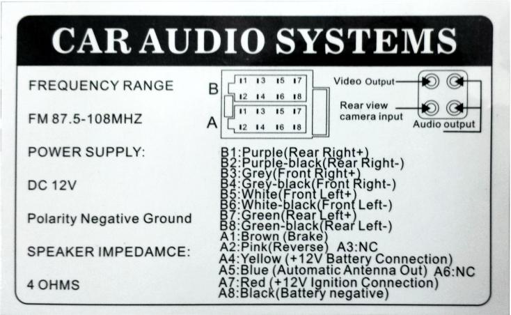 MP5-схема подключения
