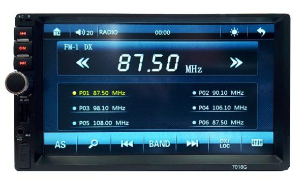 2din автомагнитола 7018G 7`` GPS
