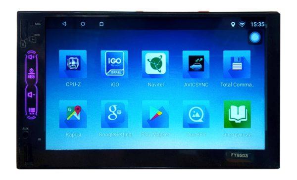 Автомагнитола FY6503 Android navi