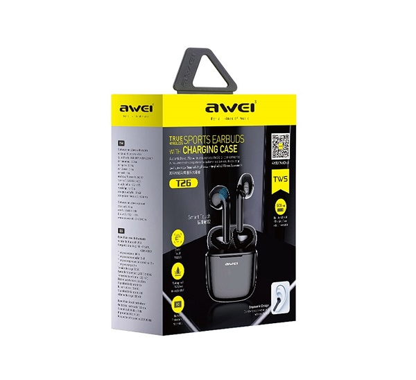 Bluetooth-наушники-Awei-T26-TWS