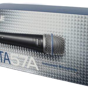Динамический проводной вокальный микрофон Shure Beta 57A
