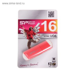 USB 2.0 Flash Drive Silicon Power Ultima U06 16GB