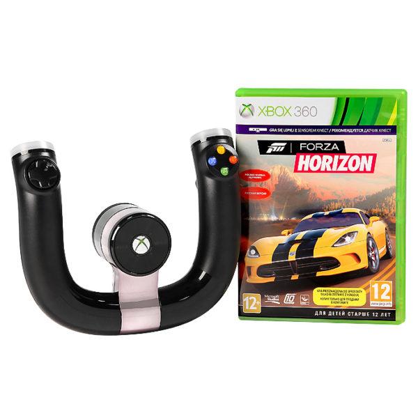 Беспроводной гоночный руль Xbox360