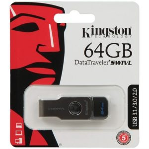 USB 3.1 Flash Drive Kingston datatraveler swivl 64gb