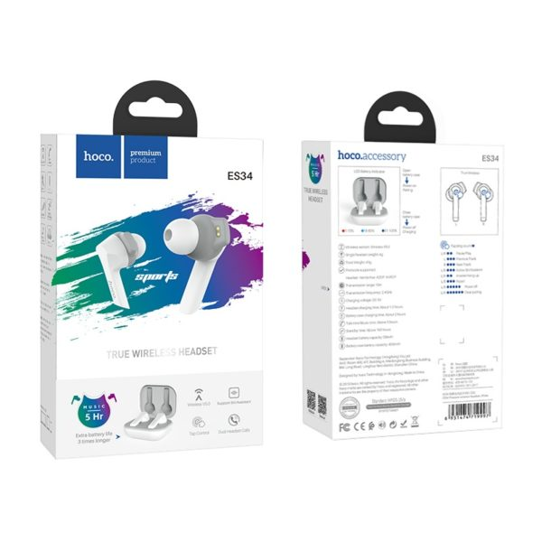 Bluetooth-гарнитура Hoco ES34