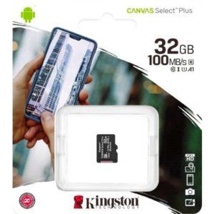 Карта памяти microSDHC Kingston 32Gb