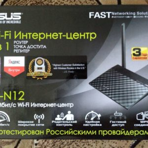 Wi-Fi Router Asus RT-N12