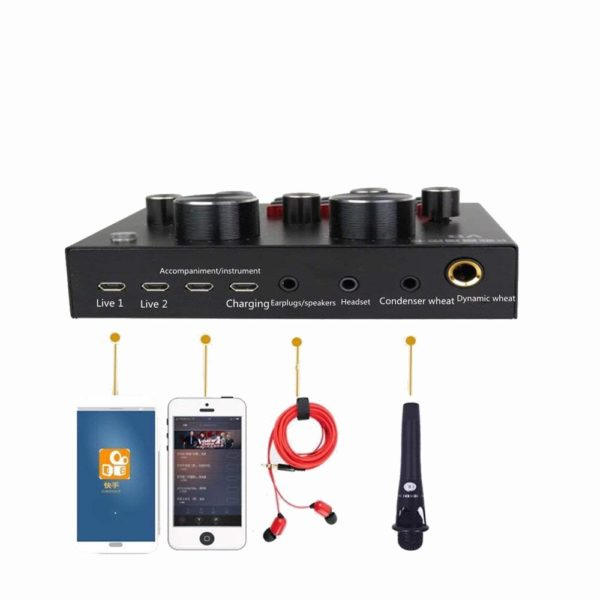 Live sound card V8