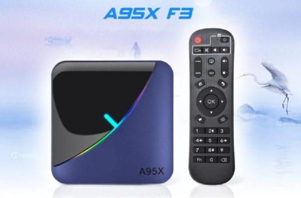 Smart tvbox a95x f3