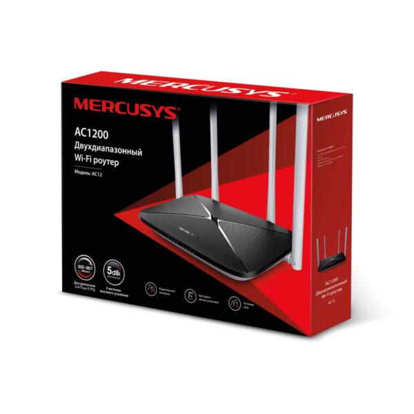 WI-FI Router Mercusys AC1200